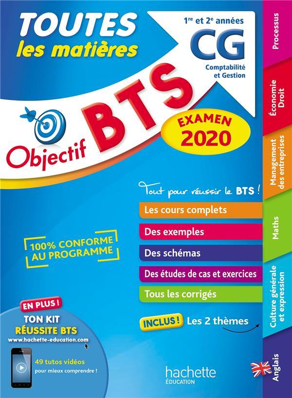 Objectif BTS ; toutes les matières (édition 2020)