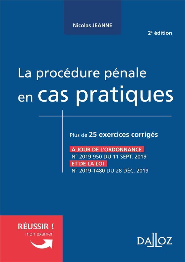 La procédure pénale en cas pratiques