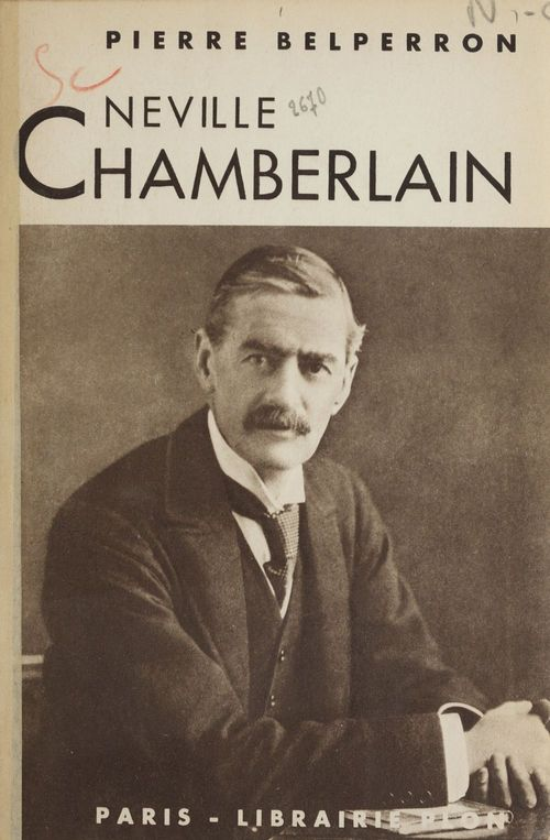 Neville Chamberlain  - Pierre Belperron