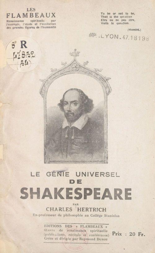 Le génie universel de Shakespeare