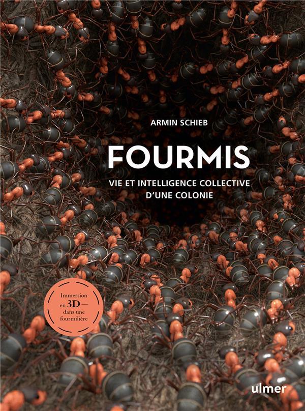 Fourmis : vie et intelligence collective d'une colonie ; immersion en 3D dans une fourmilière