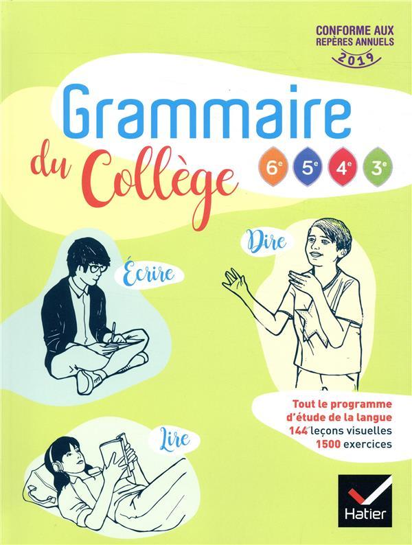 Grammaire Du College Francais 6e Livre De L Eleve