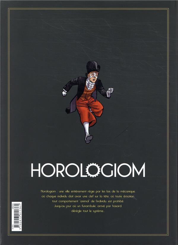 Horologiom ; INTEGRALE VOL.1 ; T.1 A T.5