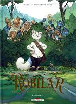 Couverture de Robilar Ou Le Maistre Chat T01 - Maou !!