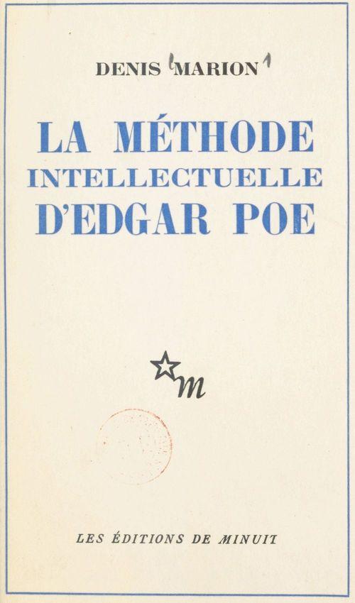 La méthode intellectuelle d'Edgar Poe