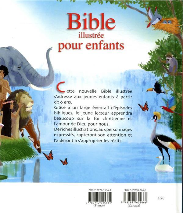 Bible illustrée pour enfants