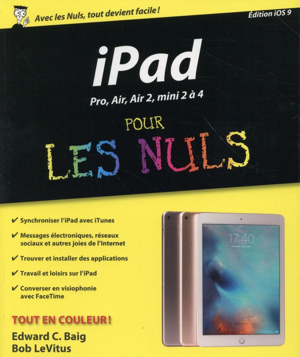 LeVitus Bob - iPad avec iOS9 pour les nuls