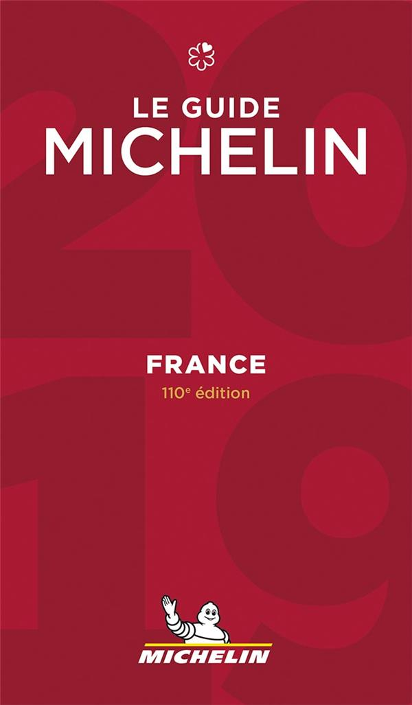 France ; le guide Michelin (édition 2019)