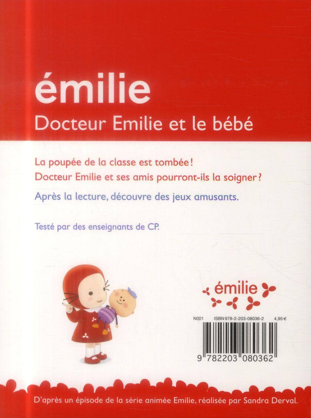 Je commence à lire avec Emilie T.7 ; docteur Emilie et le bébé ; niveau CP