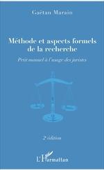 Méthode et aspects formels de la recherche  - Gaëtan Marain