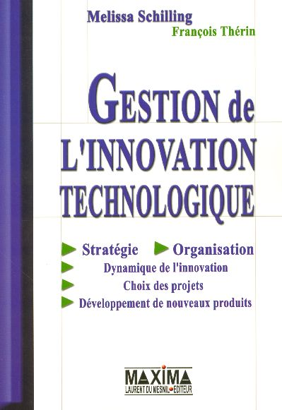 Gestion innovation technologiq
