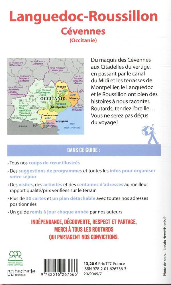 Guide Du Routard Languedoc Roussillon Cevennes Occitanie Edition 2019 Collectif Hachette Hachette Tourisme Grand Format Librairies Autrement