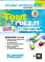 Vente Livre Numérique : Tout sur Pharmacologie et Thérapeutiques UE 2.11 - Infirmier en IFSI - DEI - Révision - 3e édition  - Kamel Abbadi - Andre Le Texier