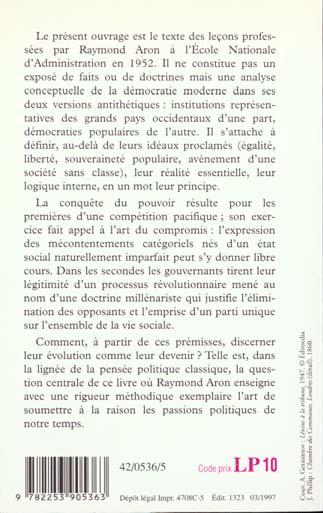 Introduction a la philosophie politique - democratie et revolution- inedit