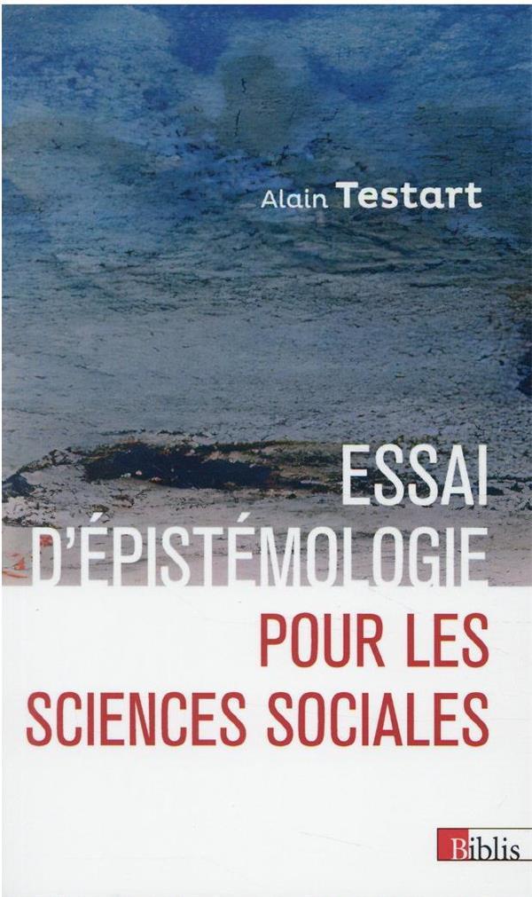 Essai d'épistemologie pour les sciences sociales