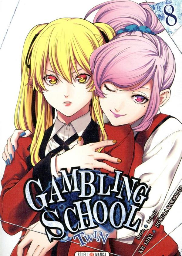 Gambling school - twin T.8