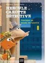 Vente EBooks : Hercule Carotte - Panique au musée du Louvre CP/CE1 6/7 ans  - Pascal Brissy