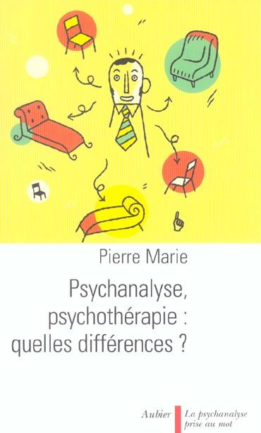 Psychanalyse psychotherap