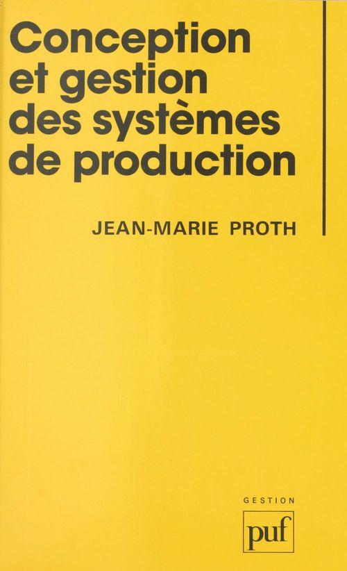 Conception et gestion des systèmes de production