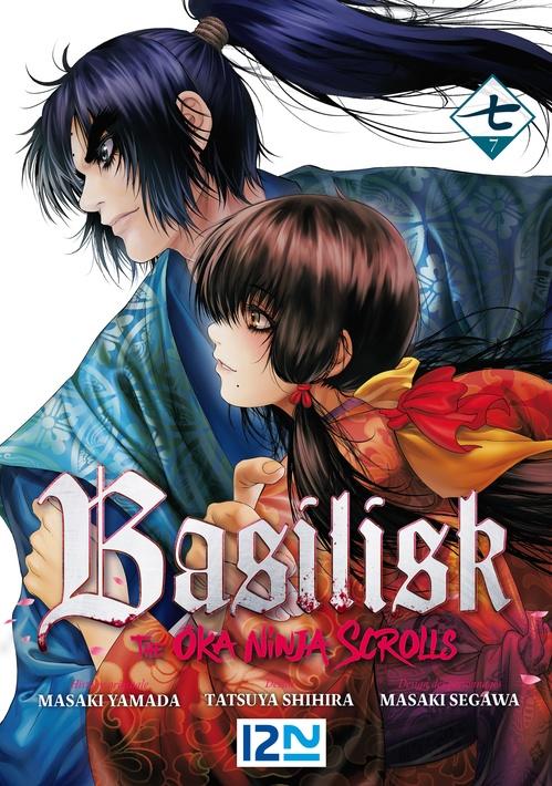 Vente Livre Numérique : BASILISK - The Ôka Ninja Scrolls - Tome 7  - Tatsuya SHIHIRA  - Masaki YAMADA  - Masaki SEGAWA