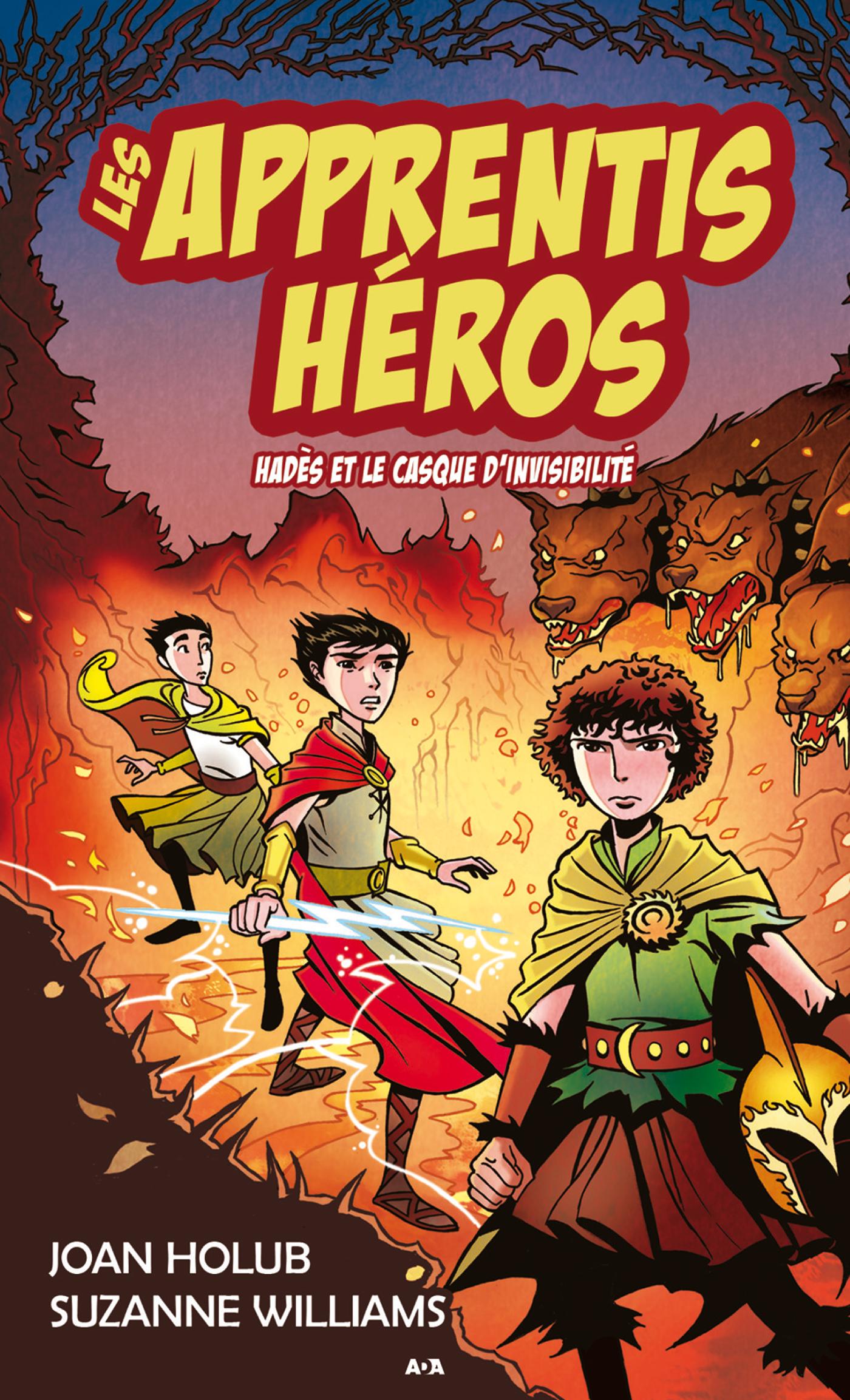 Les apprentis héros t.3 ; Hadès et le casque d'invisibilité
