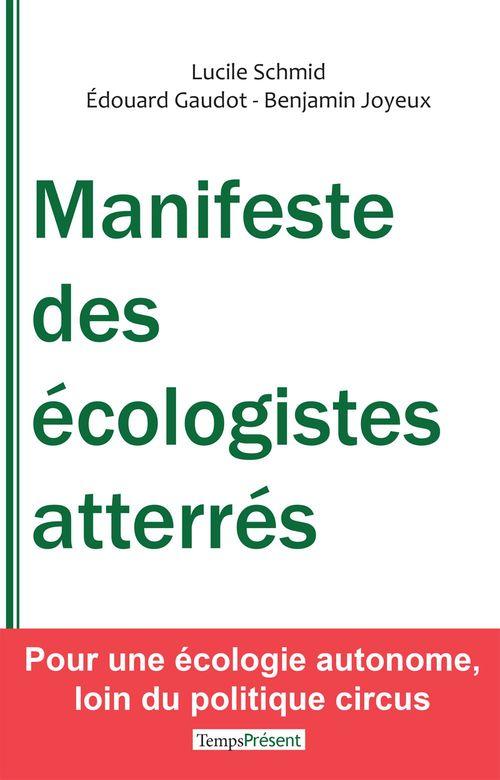 Manifeste des écologistes atterés