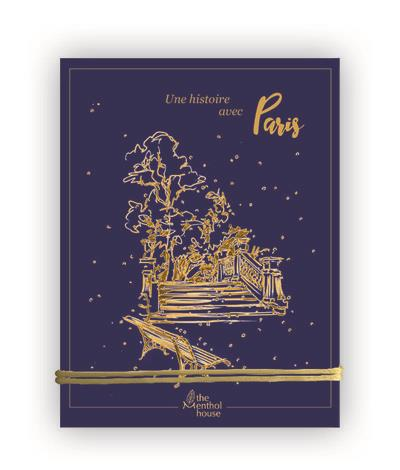 Une histoire avec Paris ; parc Monceau or