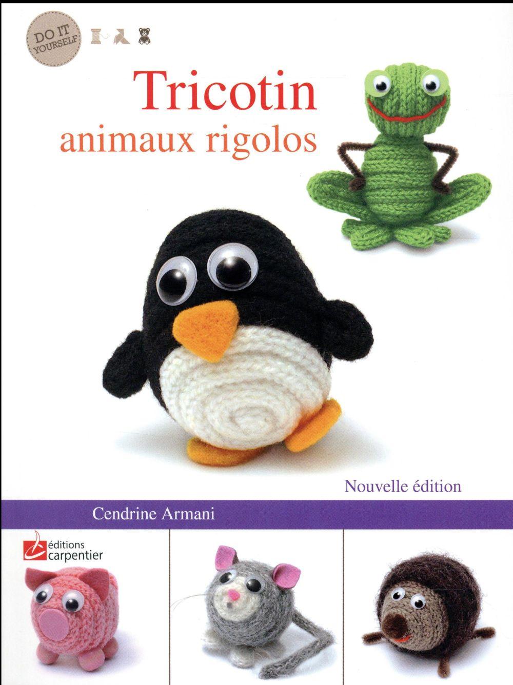 Tricotin animaux rigolos