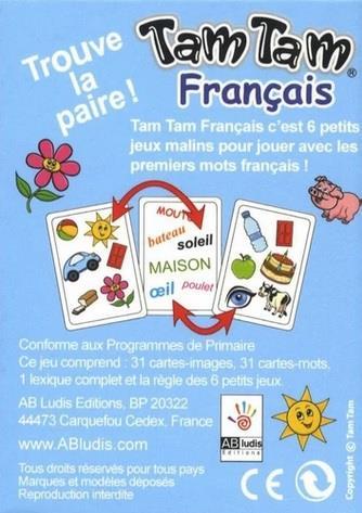 Tam tam français ; les premiers mots