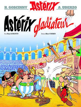 ASTERIX T.4  -  ASTERIX GLADIATEUR GOSCINNY/UDERZO