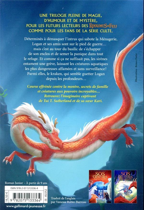 S.O.S. créatures fantastiques T.3 ; le mystère du Kraken