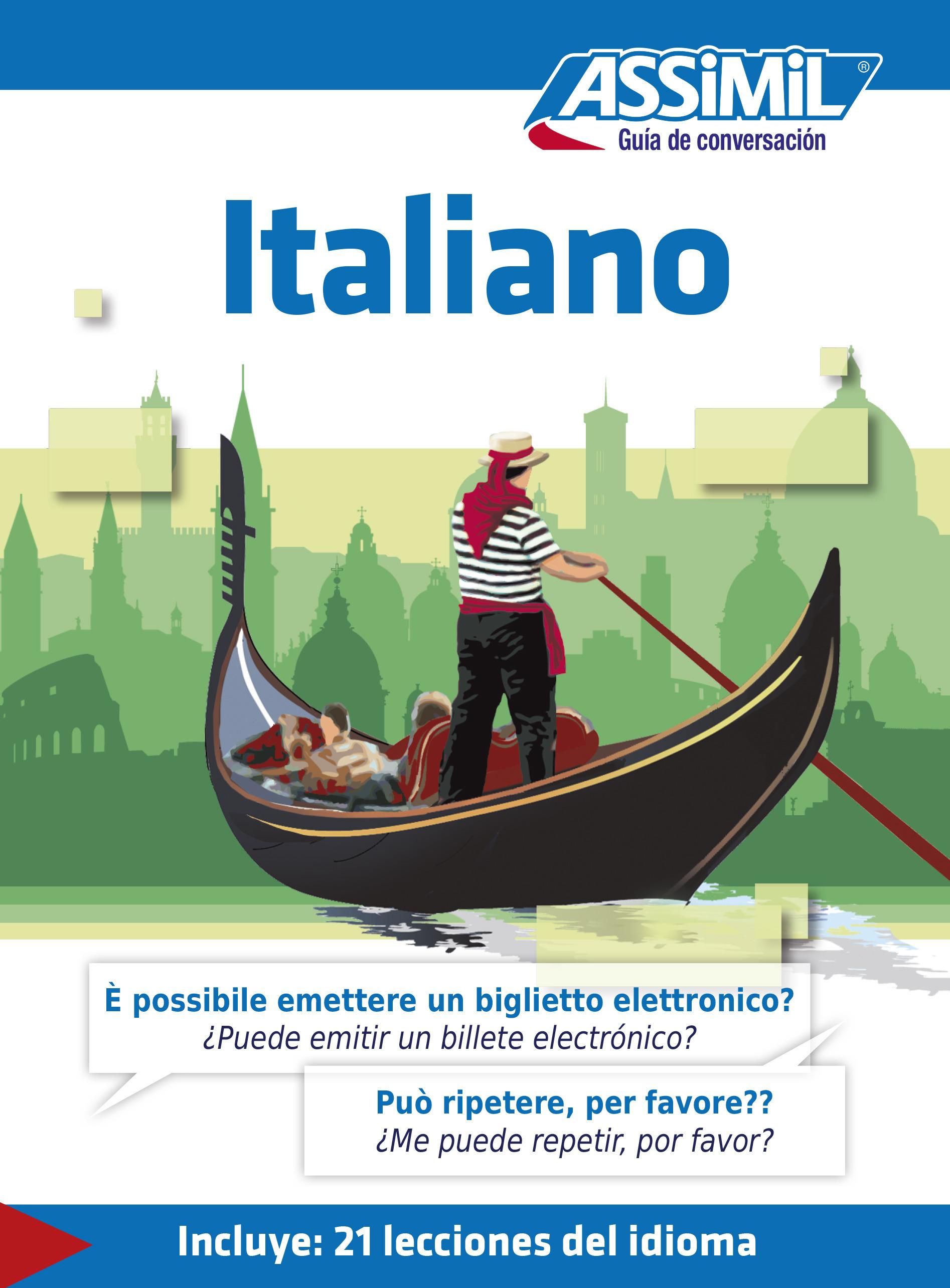GUIDES DE CONVERSATION ; italiano