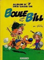 Couverture de Boule & bill t.7 ; 60 gags