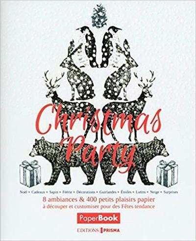 Christmas party ; mon livre de Noël