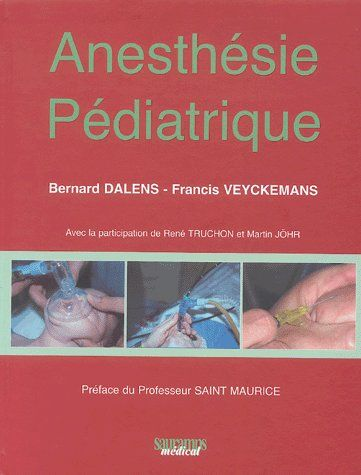 Anesthesie Pediatrique