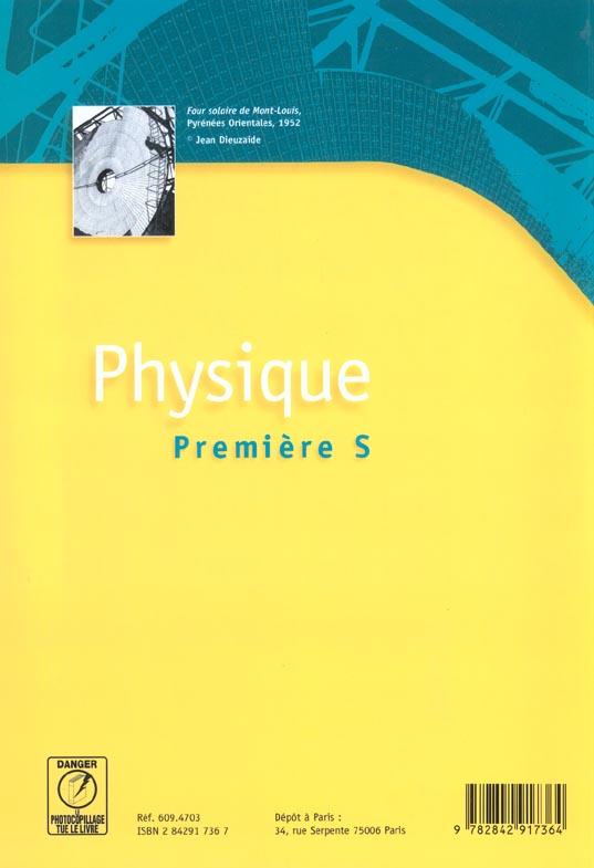 physique premiere s