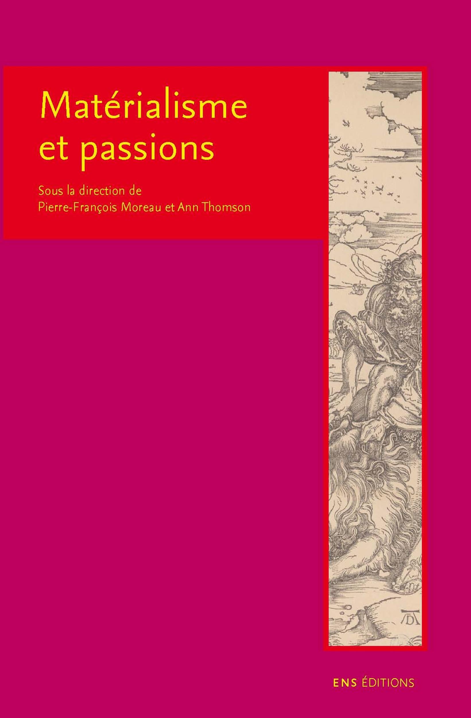 Materialisme et passions