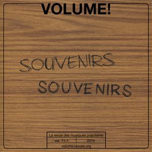 Volume t.11; souvenirs, souvenirs