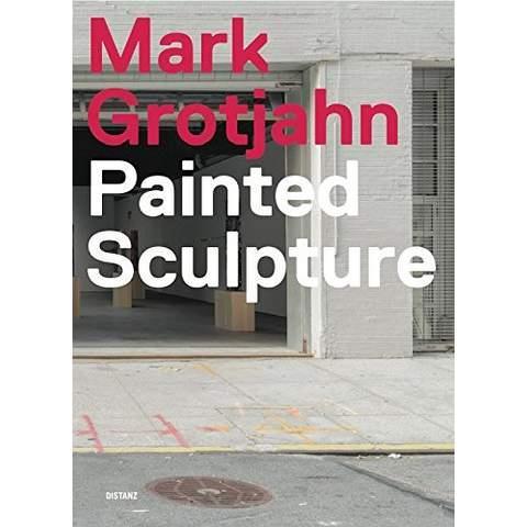 Mark grotjahn painted sculpture