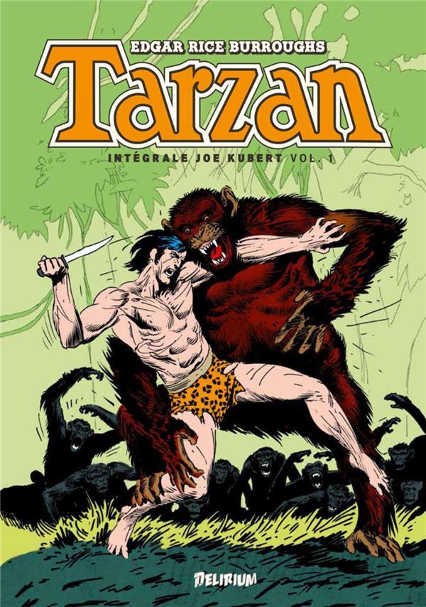 Tarzan ; INTEGRALE VOL.1