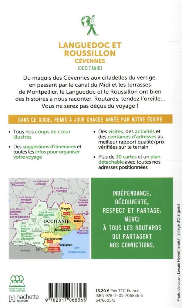 Guide du Routard ; Languedoc et Roussillon ; Cévennes (Occitanie) (édition 2020)