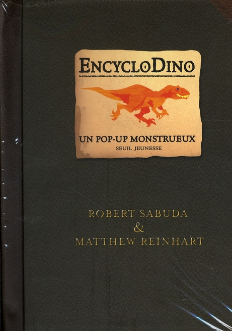 Encyclodino, un pop-up monstrueux