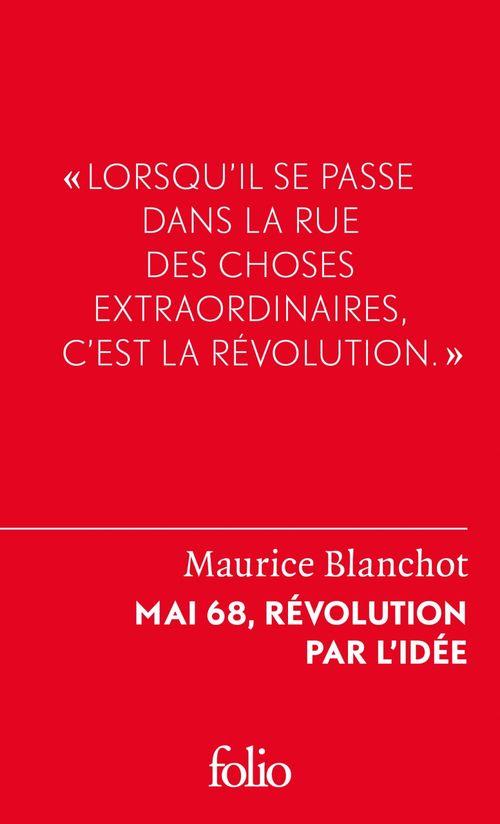 Mai 68, révolution par l'idée