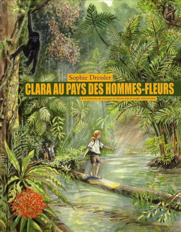 Clara au pays des hommes-fleurs