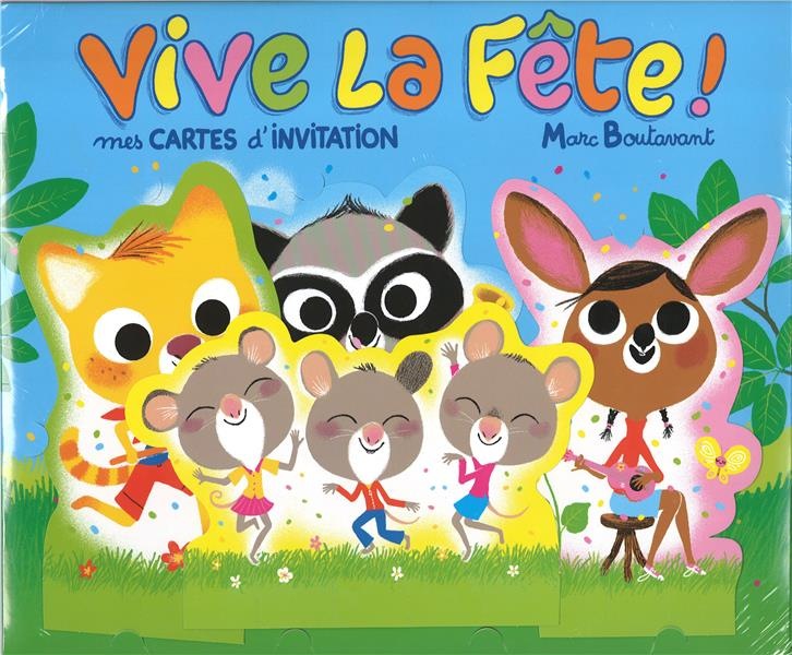 Vive la fête : mes cartes d'invitation