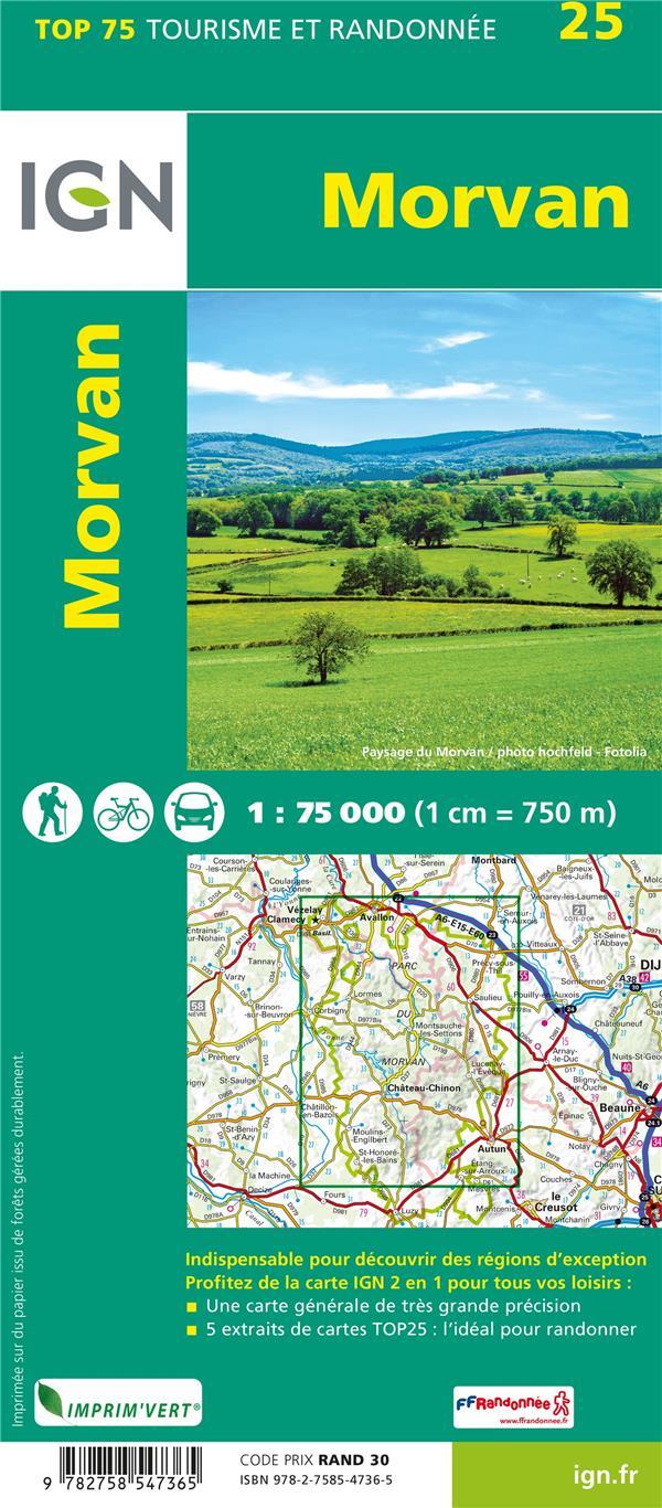 TOP75025 ; Morvan