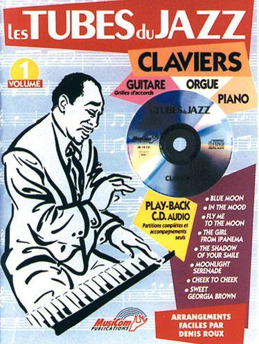 Tubes Du Jazz Claviers V.1+Cd