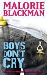 Vente EBooks : Boys Don't Cry  - Malorie Blackman