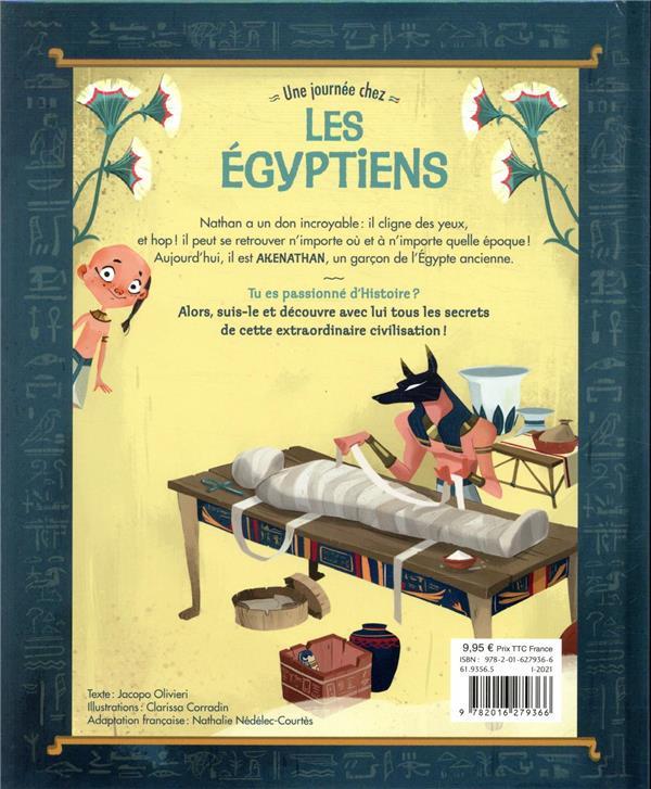 Nathan explore le temps ; une journée chez les Egyptiens