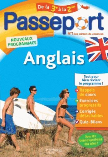 Passeport ; anglais ; de la 3e à la 2de
